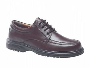 Office Eye Lace Leather Roamers Shoes up Fulfit Casual Comfy Brown 4 Wide Mens AzAwx