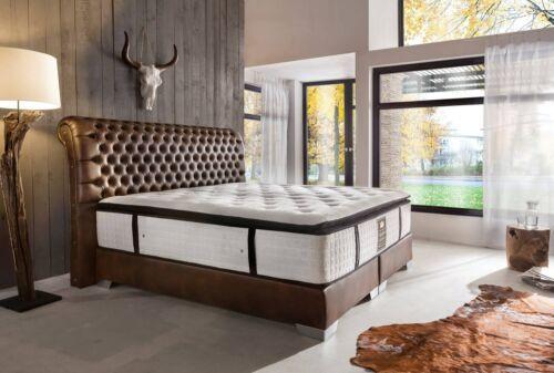 Boxspringbett amerikanisch Hotelbett Luxusbett Design Bett Komplettbett Farbwahl