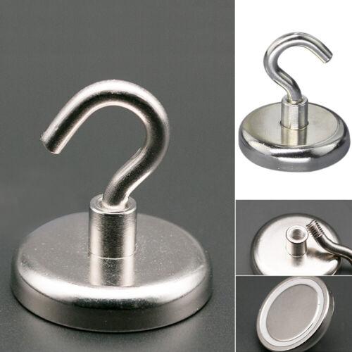 Ultra Strong Magnetic Wall Circular Hanger Hook Metal Surface Neodymium