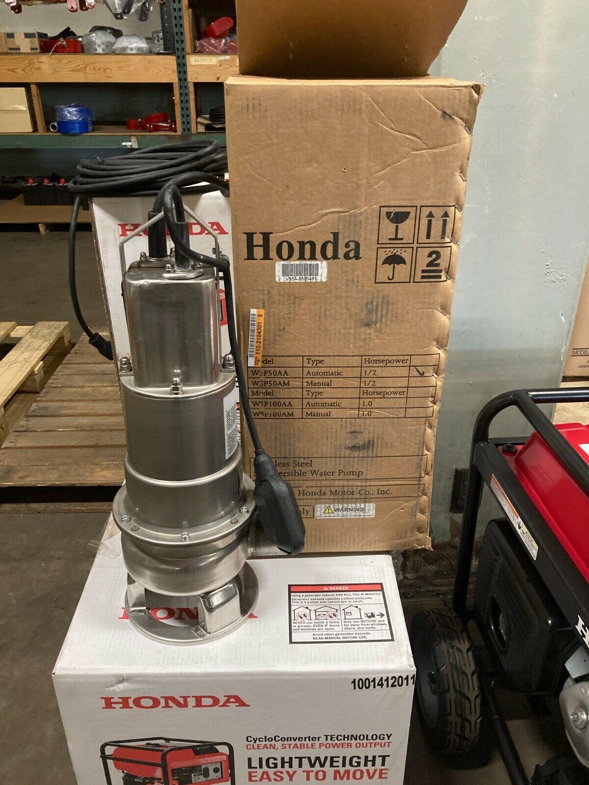New Honda WSP50AA submersible trash pump