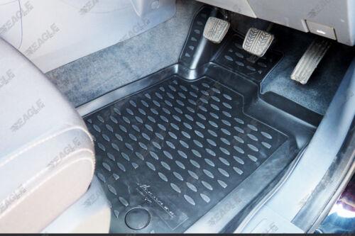 Ford Ranger T6 WILDTRAK Rubber Floor Mats 3D Deep Tray Tailored Fit Mud Mats 5pc