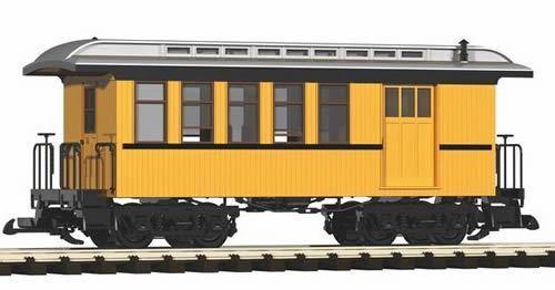 PIKO G SCALE D&RGW WOOD COMBINE giallo giallo giallo   BN   38601 450850