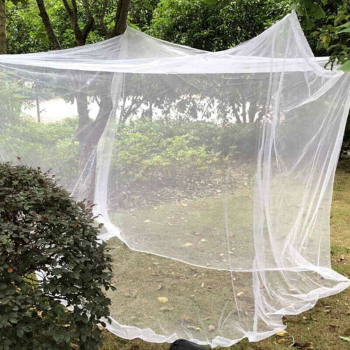 Large White Camping Mosquitos Net Indoor Outdoor Netting Storage Bag Insect Tent