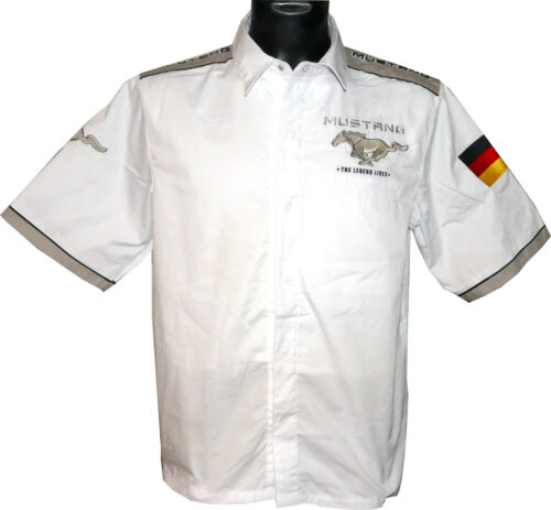 Brodé Limitée 200 Chemise Edition Mustang Complet Ford Stück q106aa