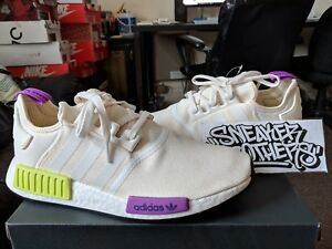 Runner Nomad Semi Blanco D96626 Corriendo r1 Adidas Shock Solar Amarillo Purple Nmd qw1nH