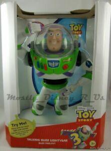 Nouveau Disney Store Toy Story 3 Parlant Buzz L'éclair Figurine Articulée