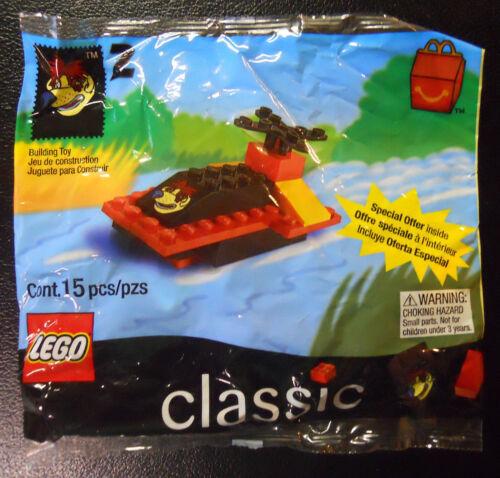 1999 McDonald/'s Happy Meal LEGO #2-Classic Sundae Airboat #2069