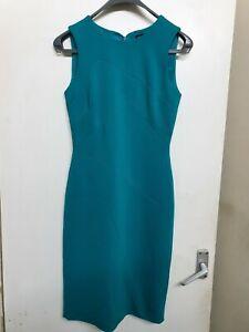 Karen-Millen-Green-Bodycon-dress-Size-10-lined