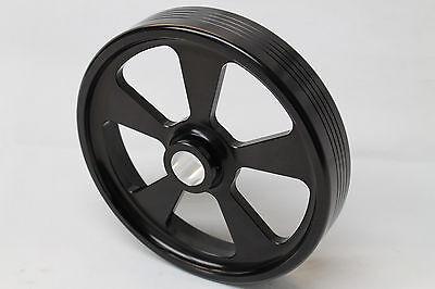 Camaro/Firebird V8 LT1 Billet Aluminum Black Power Steering Pulley