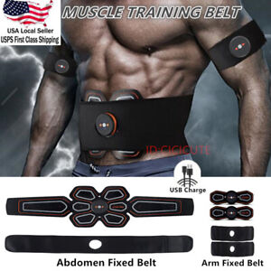 EMS-Stimulator-Abdominal-Muscle-Training-Gear-Toner-Core-Toning-ABS-Workout-Belt