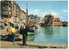 Carte postale Yvon - Calvados - HONFLEUR - Bassin de l'Ouest quai Ste-Catherine