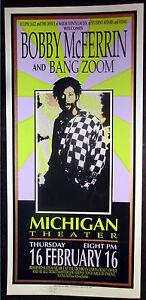Rare-Mark-Arminski-Bobby-McFerrin-1995-Concert-Poster