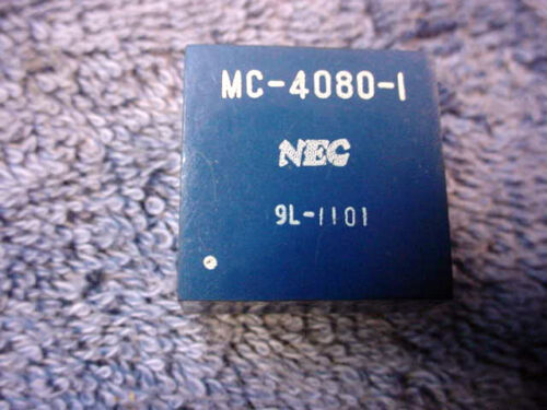 IC NEC MC-4080-1 ONE Dual 8 Amplifier Integrated Chip PC Circuit Board Vintage