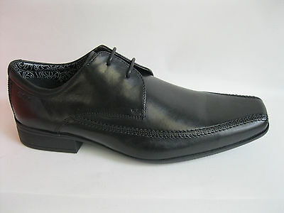 Clarks Hold Cap Mens Black Leather Lace-up Shoes G Fitting UK8.5 /& 9 Kett R38B