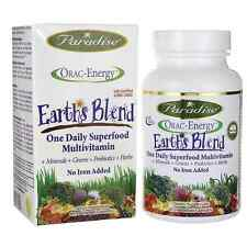 Paradise Herbs, ORAC-Energy, Earth's Blend, One Daily No Iron 60 Vcaps
