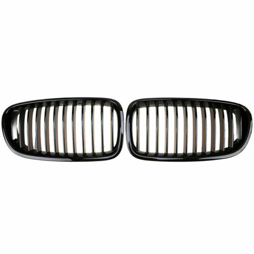 for 11-16 M5 Look Gloss Black Front Grille for 11-16 BMW F10 F11 528i 535i 550i