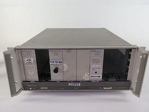 Hewlett Packard 70001A Mainframe w/ HP 70612B-K23 & HP
