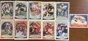 1990 Fleer NFL Cards - MINT - Jerry Rice, Joe Montana, Barry Sanders, Bo Jackson