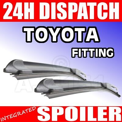 Bosch FLAT AERO Twin Blades for TOYOTA Celica st202 st205