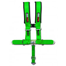 Monster Hunting Green Safety Race Harness 5 Point Polaris RZR XP1000 UTV RZR4 X