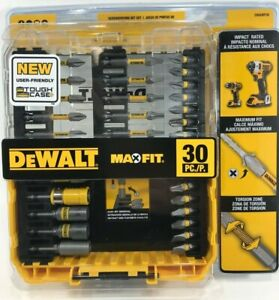Max Fit Screwdriving Set 30 Pieces Compatible With Most Impact Drivers And Drill