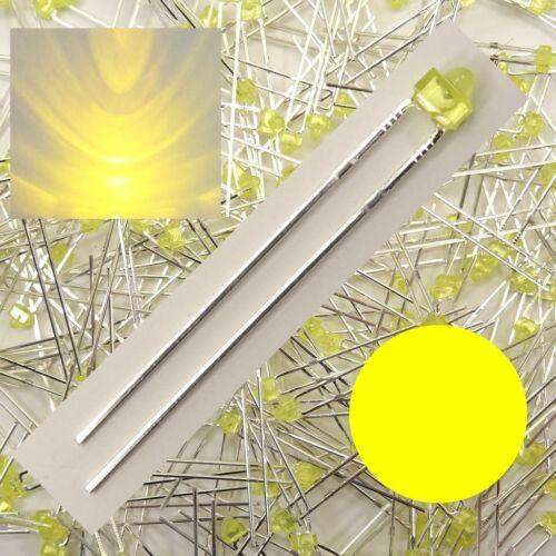 LED 1,8mm Gelb diffus Stückzahl wählbar 1/10/25/50 Stück C3646