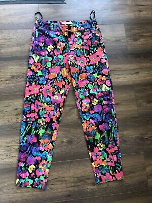 Ladies John Lewis The Collection Amalia Print Cotton Trousers Uk Size 10 Bnwot Ebay