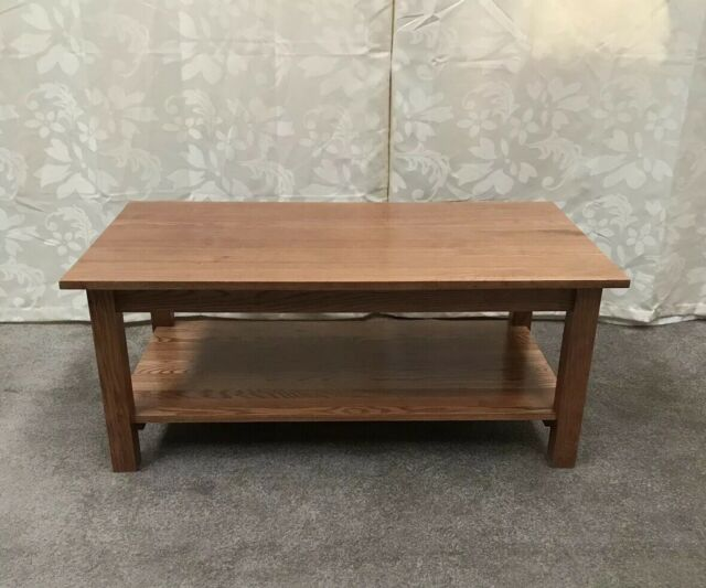 Corndell Nimbus Oak Coffee Table Chestnut Finish