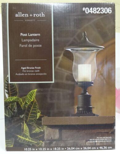 Kensett 18.25-in H Bronze Post Light LW-1059