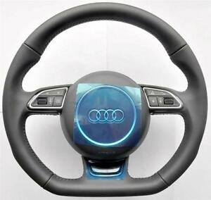 nouveau 2015 audi a3 s3 q3 rs 8u a1 s line fond plat multifonction volant ebay. Black Bedroom Furniture Sets. Home Design Ideas