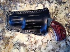 NAA 22 Mag Pocket Holster Black Leather       1 1/8 in Barrel