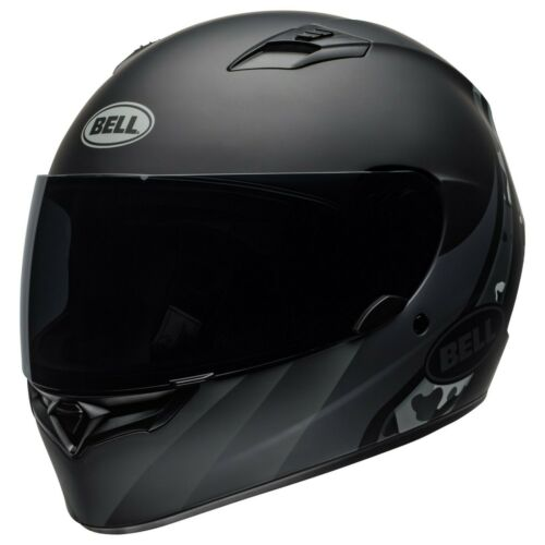 BELL QUALIFIER MOTORCYCLE HELMET INTEGRITY BLACK TITANIUM CAMO DOT APPROVED NEW