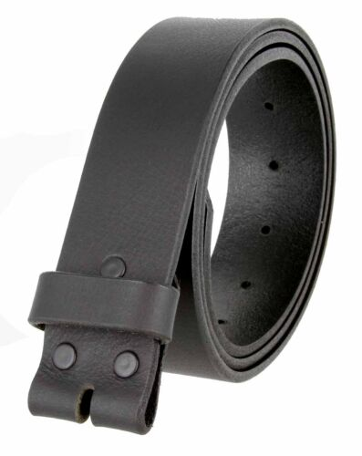 38mm WIDE 2 COLORS 5138 MADE IN USA ONE PIECE FULL LEATHER BELT STRAP 1-1//2/""