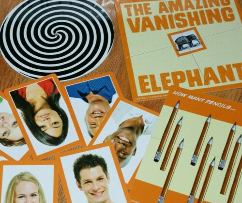 cool kit of optical magic and science puzzlers   TMGS Mind Games - Quirkology
