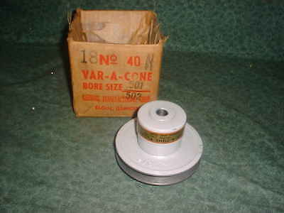 "VARIABLE SPEED PULLEY VP-40M---3//4/"" BORE---3-3//4/"" O.D."