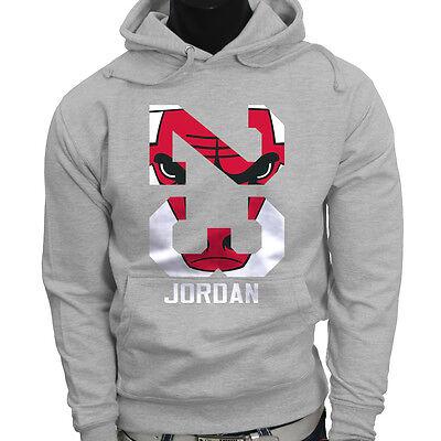 Chicago bulls Michael Air Legend 23 Jordan Mens Gray Hoodie