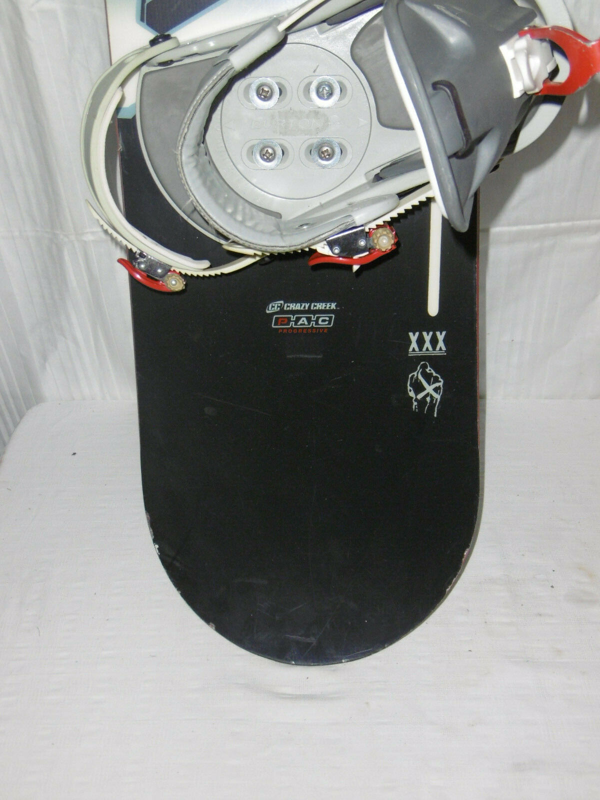 CRAZY CREEK   TAHOE   TOP FREESTYLE FREESTYLE FREESTYLE SNOWBOARD 135 CM + Stiefel GR. 39 IM SET 3f71a9