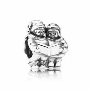 d74865179d116 Authentic PANDORA Charm Bead Christmas Singer Carolers Holiday 791403 Silver