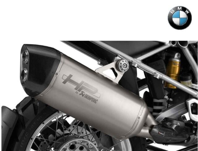 bmw motorrad hp sports exhaust muffler silencer r 1200 gs rh ebay co uk