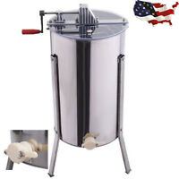 Large 2 Frame Honey Extractor Beekeeping Equipment Stainless Steel Us Ship