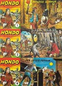 HONDO-Western-Piccolo-Comic-AUSWAHL