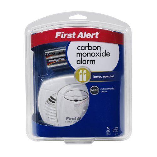 FirstAlert Battery Carbon Monoxide Detector GorillaSpoke for Free P/&P EU /& UK!