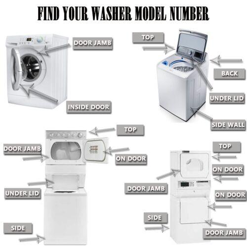 8182119 Whirlpool Kenmore Maytag Washer Door Bellow W10003800 WP8182119VP