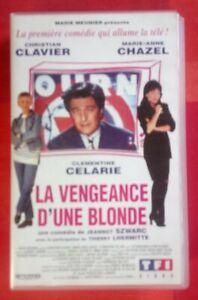 VHS-La-Vengeance-d-039-une-Blonde