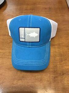 COSTA DEL MAR ORIGINAL PATCH TUNA TRUCKER HAT BLUE SNAP BACK BRAND NEW 2017 f8db9d0c92b