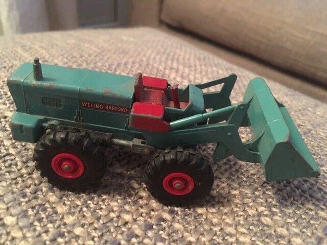 Collection -  Matchbox King-Talla No.K-10 Aveling Barford Tractor Shovel