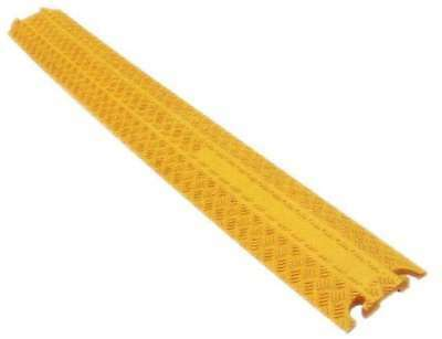 4x 1 Kanal Kabelbrücke Cable Protector PVC Kabelkanal Überfahrschutz Kabelschutz