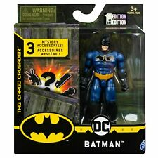 DC SPINMASTER THE CAPED CURSADER 4 INCH BATMAN BLUE SUIT 1 EDITION