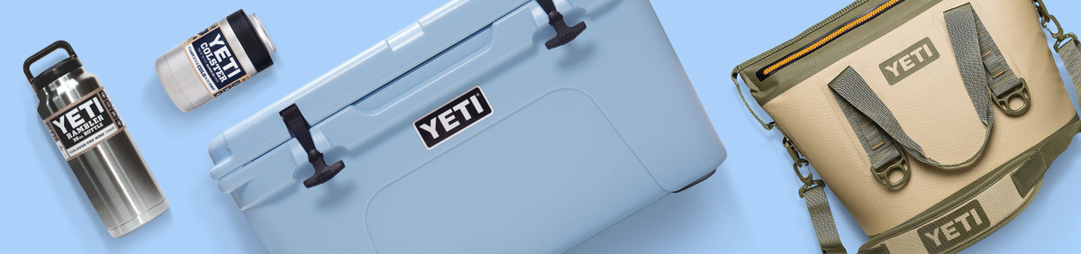 Shop Event YETI on eBay: It's No Myth Shop coolers, drinkware, and more