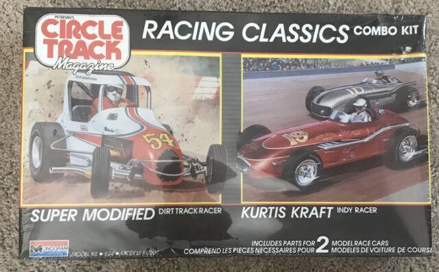 Monogram Circle Track Racing Classics Combo 1/24 Model Kit #6146 - New Sealed